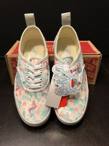 dd8ff4b89fec Image is loading Vans-Authentic-classic-Elastic-Mermaid-Ice-Flow-glitter-