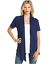 Women-039-s-Solid-Short-Sleeve-Cardigan-Open-Front-Wrap-Vest-Top-Plus-USA-S-3X thumbnail 11