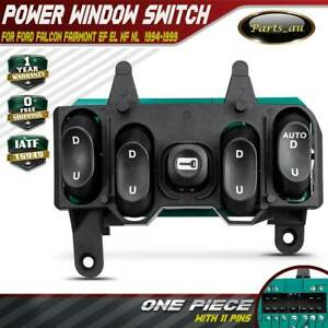 Master-Power-Window-Switch-for-Ford-Falcon-Fairmont-amp-Fairlane-EF-EL-NF-NL-Black