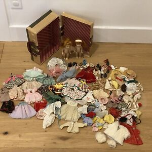 Vintage-1950-s-Vogue-GINNY-HUGE-LOT-of-Clothing-and-Accessories-2-Dolls