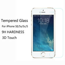 For iPhone SE 5S 5C 5 New Premium Tempered Glass Film Guard Screen Protector