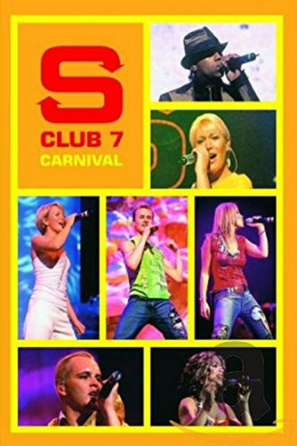 S CLUB 7 SEVEN CARNIVAL DVD Music Video Concert UK Release New R2