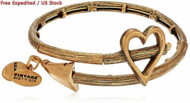 1  Expandable Rose Gold Tone Bangle Bracelet C787