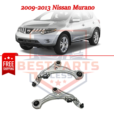 DRIVESTAR 54501-1AA1A 54500-1AA1A Front Lower Control Arms with Ball Joint Bushing for 2009 2010 2011 2012 Nissan Murano OE-Quality New Front Suspension both Driver and Passenger Side Lower Arms