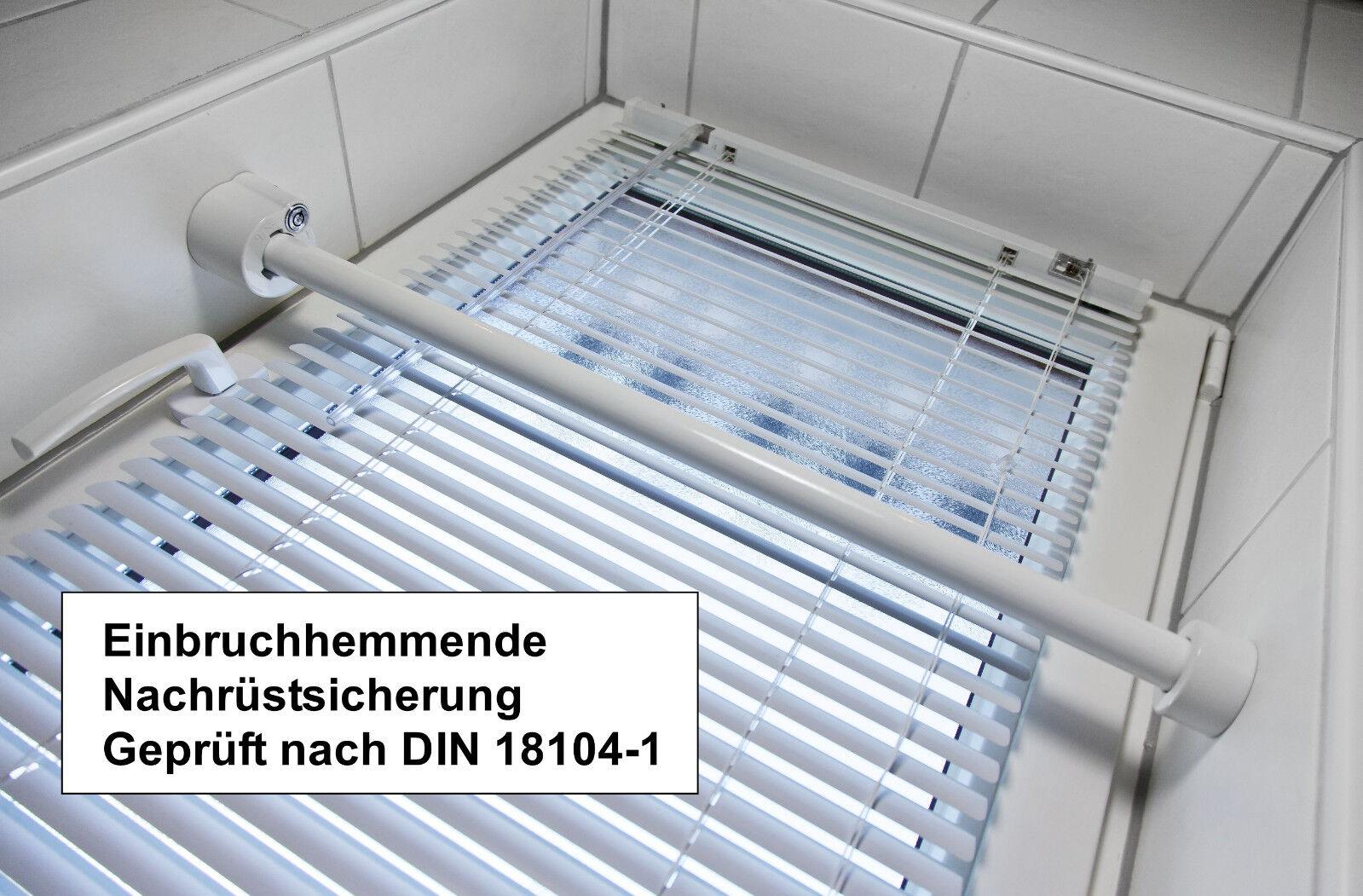 Einbruchsicherung Einbruchschutz Sicherungsstange DIN 18104-1 Montageset