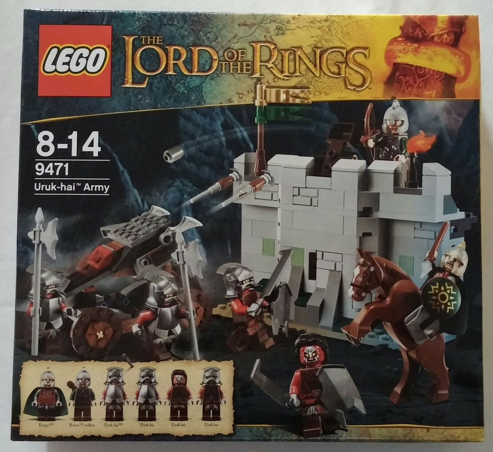 LEGO ® Lord of the rings ™ seigneur des anneaux 9471 uruk-Hai Armée Nouveau & OVP new sealed