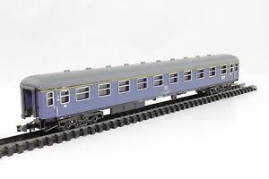 Trix-Minitrix-Spur-N-Schnellzugwagen-Personenwagen-der-DB-1-Kl-blau-TOP