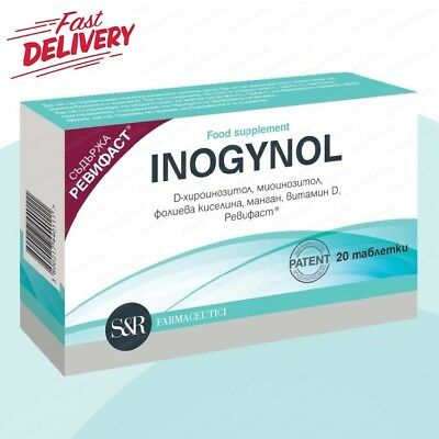 INOGYNOL 20 tablets (PCOS) disorder of ovarian function, folic acid,  vitamin D | eBay