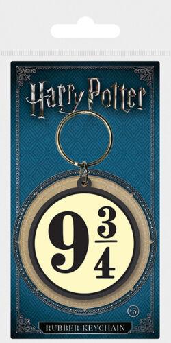 Gummi Schlüsselanhänger Keyring ca 9,75 4,5x6 cm Harry Potter