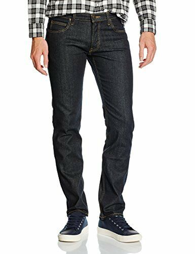 (TG. 33W   34L) Lee Powell, Jeans Uomo, Uomo, Uomo, Blu (Deep Dark), W33 L34 (Taglia (y1s) 21240c