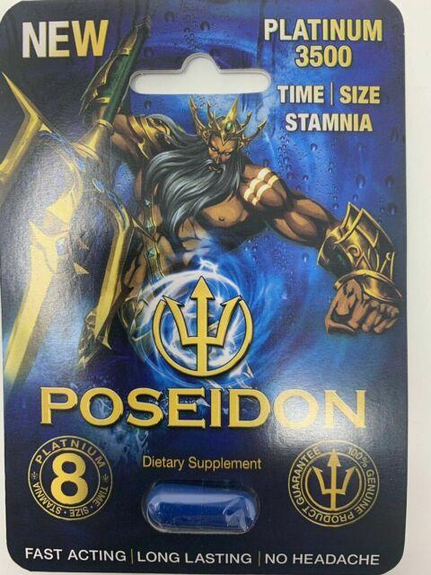 Poseidon Platinum 3500 Enhancement Pills