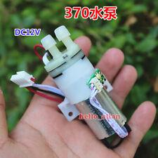 Dc 12v Small Mute 370 Diaphragm Pump Micro Self Priming Air Water Suction Pump