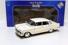 1:18 Revell Opel Kapitän white NEW bei PREMIUM-MODELCARS