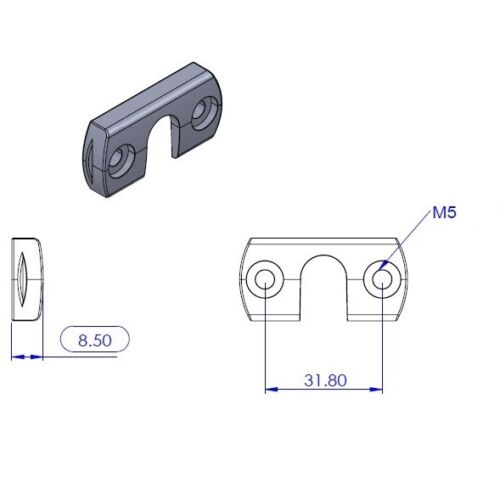 "0.76M 30/"" 【Master】Carbon Fiber /& Hypalon Grip Tiller Extension"