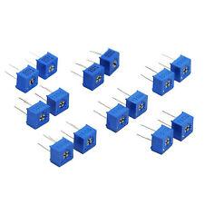 7 Values Assort 3362 3362P Trim Pot Trimmer Potentiometer Kit Variable Resistor