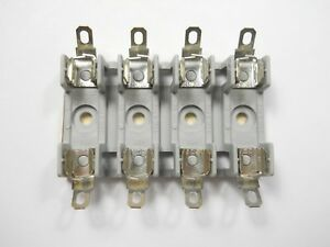 4 Pole Solder Type Fuse Block 354004GY (NOS, New Old Stock)(QTY 1 ea)C3