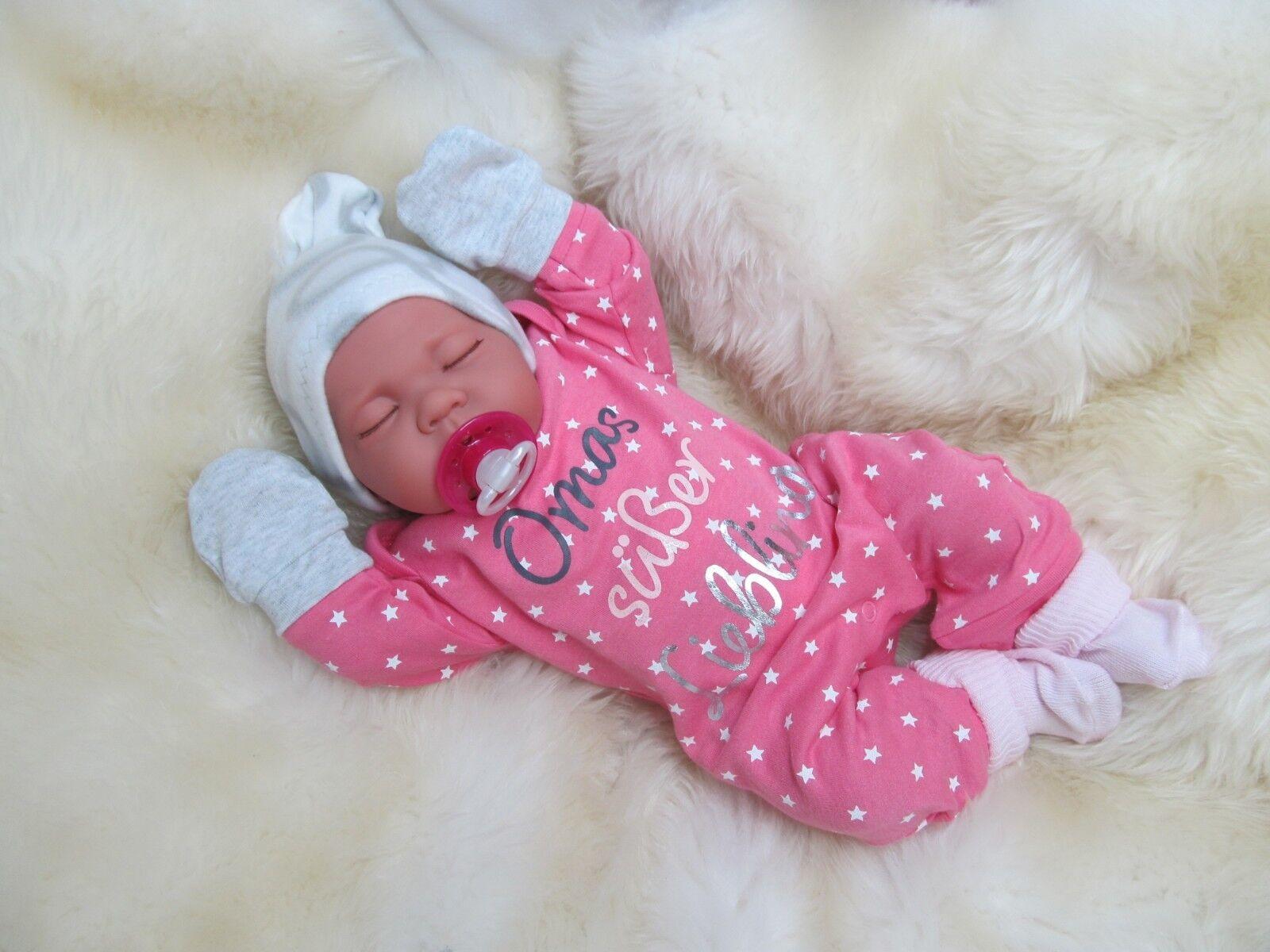Ninisingen Reborn BABY RealLife Nina REBORN BAMBOLA BABY BAMBOLA rebornbaby circa 45 cm