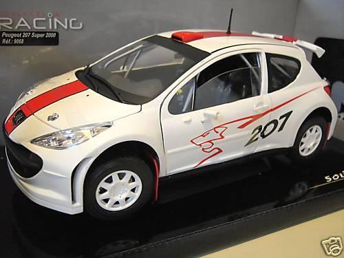 primera vez respuesta PEUGEOT 207 súper 2000 2000 2000 o 1 18 SOLIDO 9068 voiture miniature de collection RALLYE  Esperando por ti