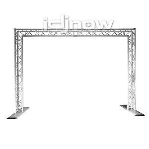chauvet goal post kit 35mm portable mobile dj lighting equipment truss system ebay. Black Bedroom Furniture Sets. Home Design Ideas