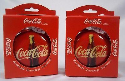 Coca-Cola Christmas Ornament NEW
