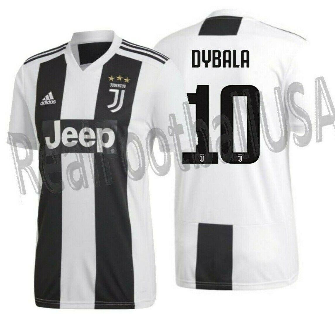 Adidas Paulo Dybala Juventus Home Jersey 2018 19