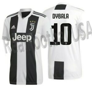 the latest 3b57f 834e5 Details about ADIDAS PAULO DYBALA JUVENTUS HOME JERSEY 2018/19.