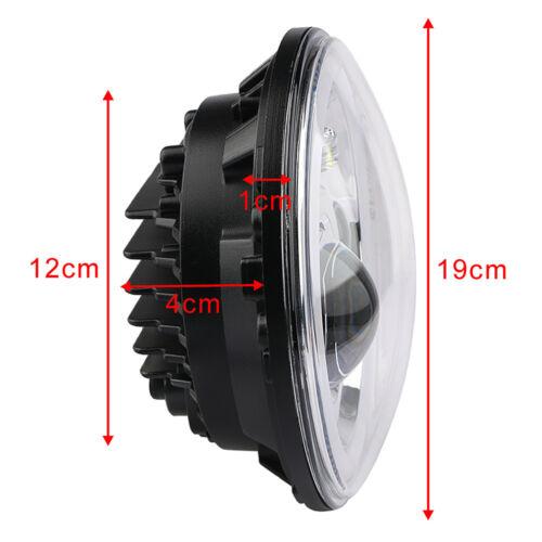 "1PC 7/"" Motorcycle Headlight LED Turn Signal Light For Harley Cafe Racer Davidson"