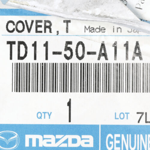 2007-2009 Mazda CX-9 Front Right Bumper Tow Hook Cover OEM NEW TD11-50-A11A