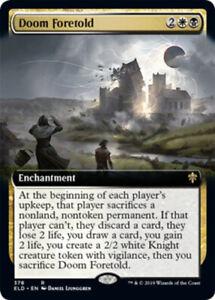 Doom Foretold Rare NM Throne of Eldraine MTG