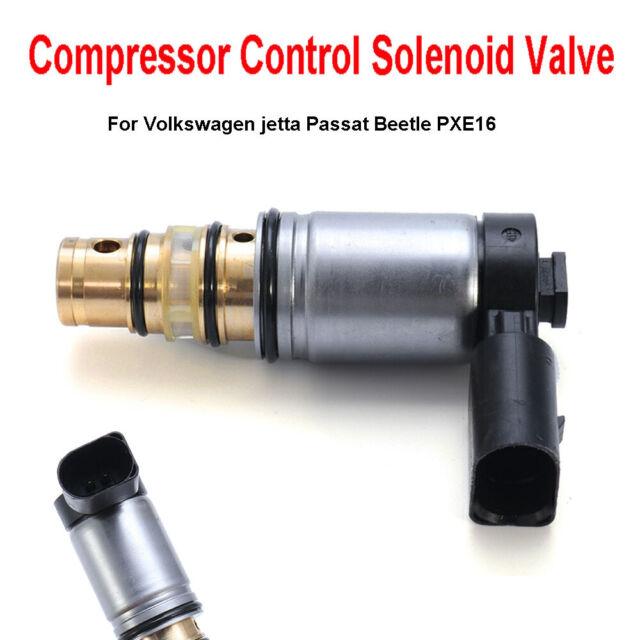 AC OEM Compressor Control Solenoid Valve For Beetle Passat Jetta PXE16 VW PXE14