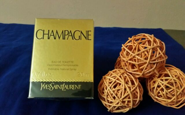 YSL CHAMPAGNE  yves saint laurent edt 20ml spray,  sealed,  VERY HARD TO FIND.