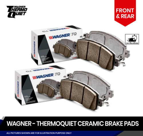 CL Front and Rear TQ Disc Brake Pads 2 Complete Sets Fits Acura TL RL