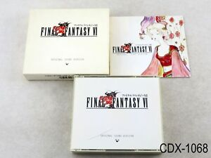Final-Fantasy-VI-6-Original-Sound-Version-Music-CD-OSV-Japan-Import-JP-US-Seller