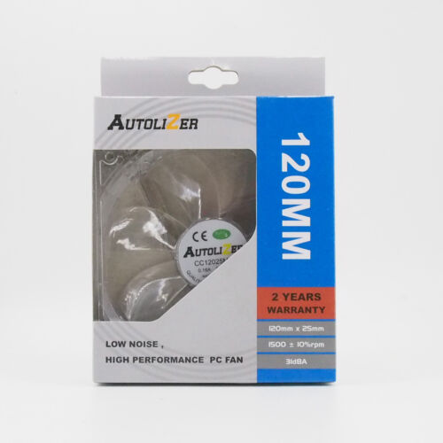 Lots 1//2//4 Quad 4 LED Lights Clear 80mm 120mm PC Gaming Case Cooling Fan Mod