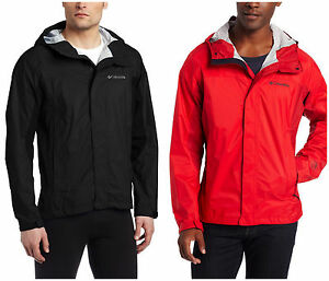 COLUMBIA TRAIL TURNER SHELL MEN&amp039S LIGHTWEIGHT RAIN JACKET