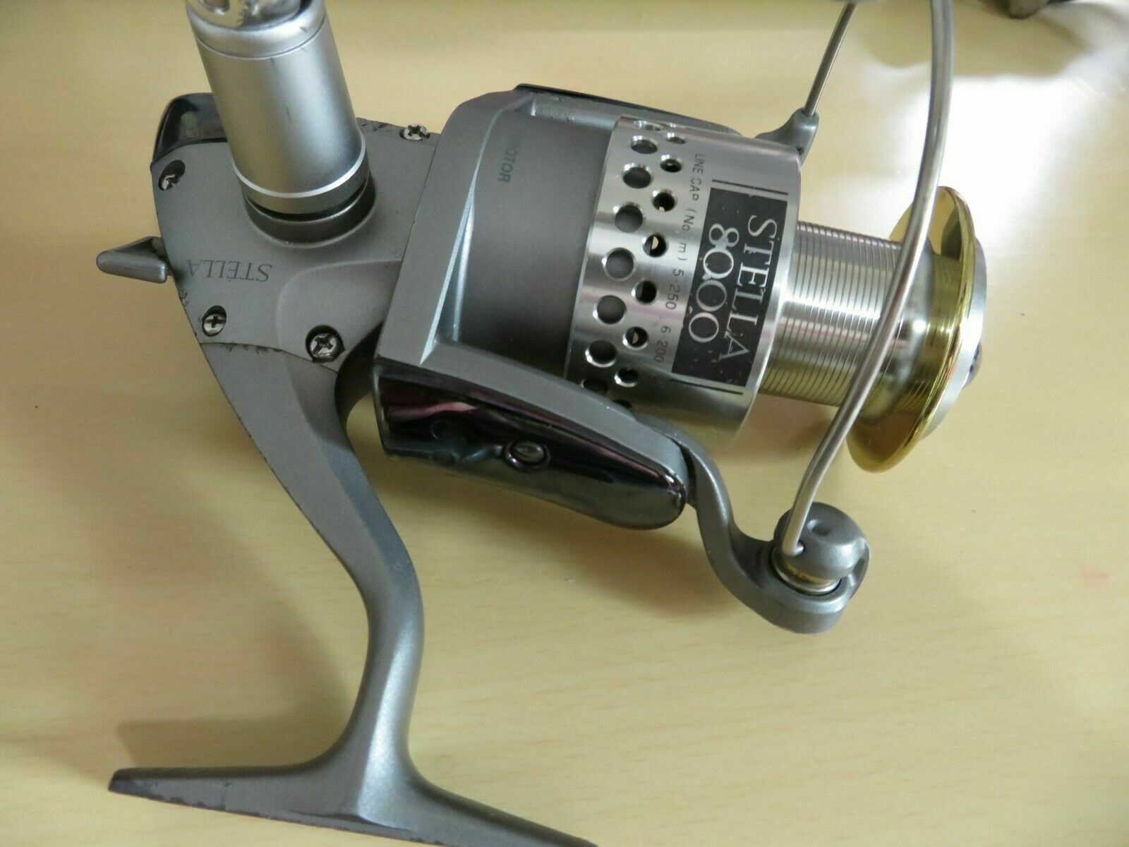 Cocherete Shimano Stella 8000 Pesca De Agua Dulce hecho en Japón