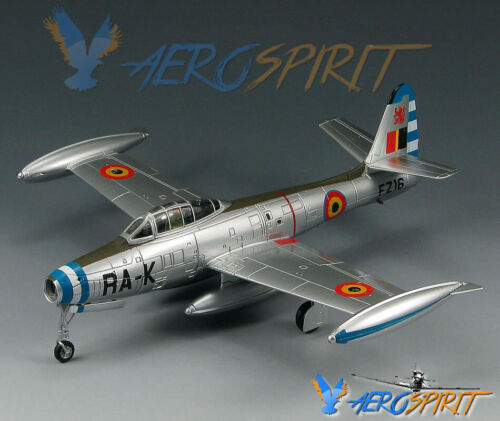 ** RARE ** F-84G Thunderjet Belgian Air Force FZ16//RA-K SkyMax Models 1:72