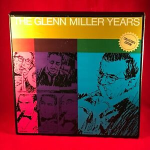 VARIOUS-The-Glenn-Miller-Years-1966-UK-6-X-Vinyl-LP-Box-Set-EXCELLENT-CONDITION