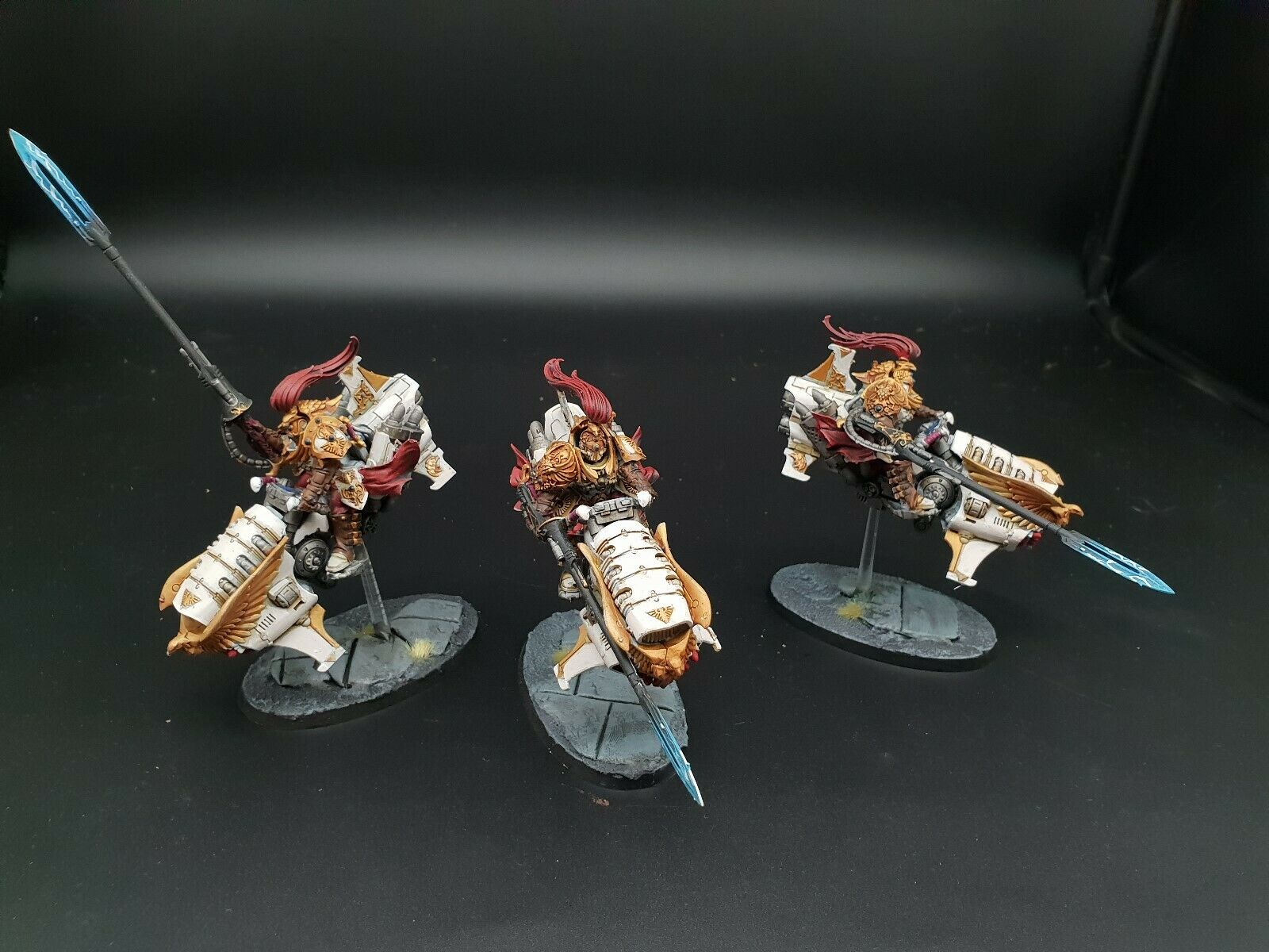Warhammer 40k solar watch custodes Jet bikes pro painted painted painted made to order ee1a98