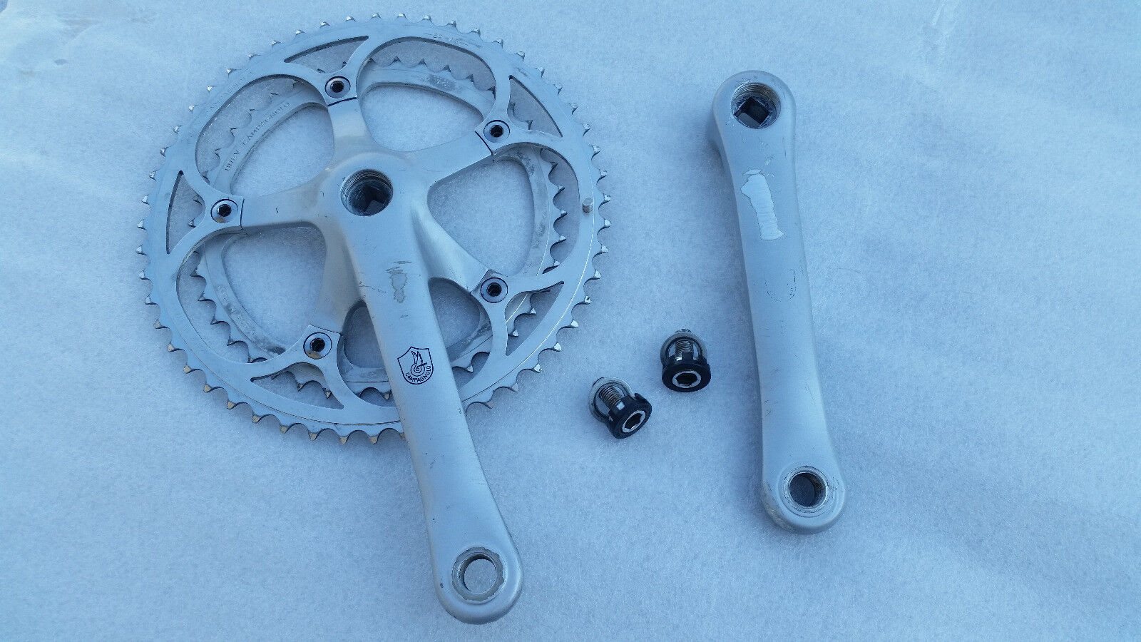 CAMPAGNOLO Crankset pedalier Double chainrings 52T   42T Crankarm Length 170 mm