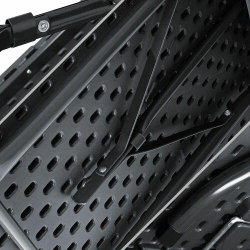 KESSER® Bierzeltgarnitur Set Rattan Festzeltgarnitur klappbar Campingtisch 180cm