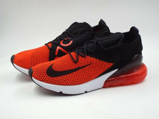 pretty nice 12267 4775f Nike Air Max 270 Flyknit Running Shoes Chile Red/black Ao1023 601 Mens Size