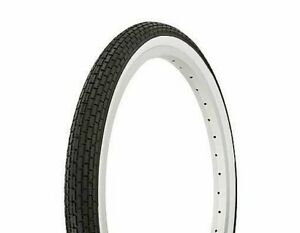 "bicycle Tire Duro 24/"" x 2.125/"" Black//Red Side Wall HF-120A."