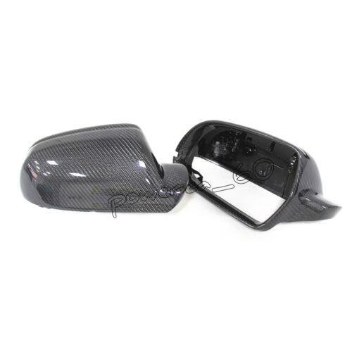 For Audi A4 B8.5 S4 13-16 A5 S5 10-16 A3 RS4 RS5 Carbon Fiber Rear Mirror Cover