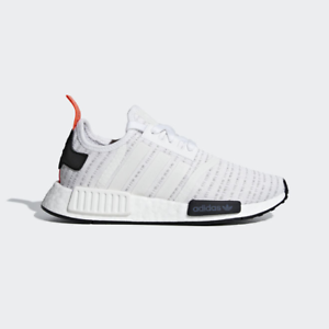 Details about Juniors ADIDAS NMD R1 J White Trainers F35838 UK 3.5