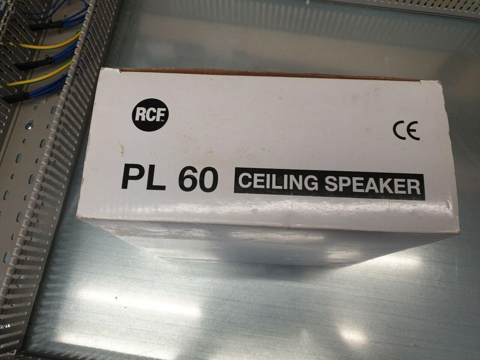 Cash RCF AUSTICA pl60 sound system