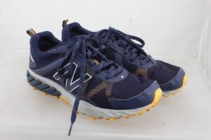 09f8e2c23bf14 New Balance Mens Mt610RN5 Navy Running Shoes Size 9 US 43.5 EU All ...
