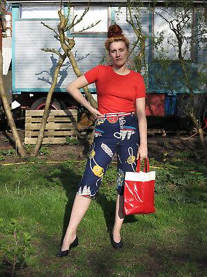 Radient Elegance Paris Marine Bermuda Shorts Da Donna Pantaloni 90s True Vintage Tg 46 Pants-mostra Il Titolo Originale Tempi Puntuali
