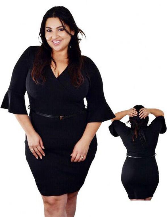 Sexy Bewitching Black Classy Elegant Dress size choice