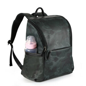 Unisex-Backpack-Baby-Nappy-Bag-Mummy-Daddy-Diaper-bag-W-Changing-Pad-Waterproof
